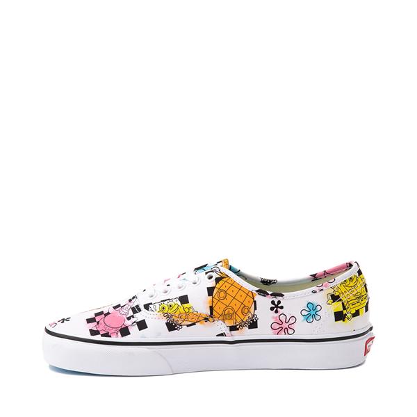 alternate view Vans x SpongeBob SquarePants™ Authentic Airbrush Skate Shoe - WhiteALT1