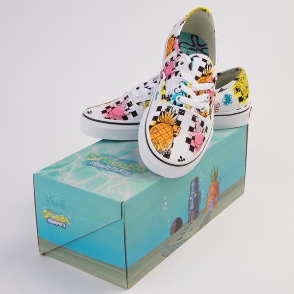 alternate view Vans x SpongeBob SquarePants™ Authentic Airbrush Skate Shoe - WhiteALT1B