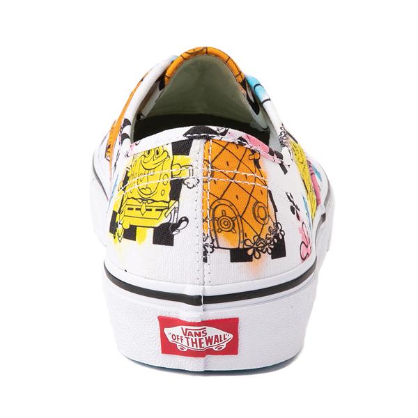 alternate view Vans x SpongeBob SquarePants™ Authentic Airbrush Skate Shoe - WhiteALT4