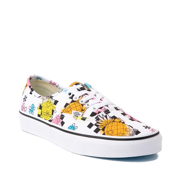 alternate view Vans x SpongeBob SquarePants™ Authentic Airbrush Skate Shoe - WhiteALT5