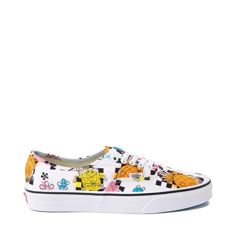 Vans x SpongeBob SquarePants™ Authentic Airbrush Skate Shoe - White
