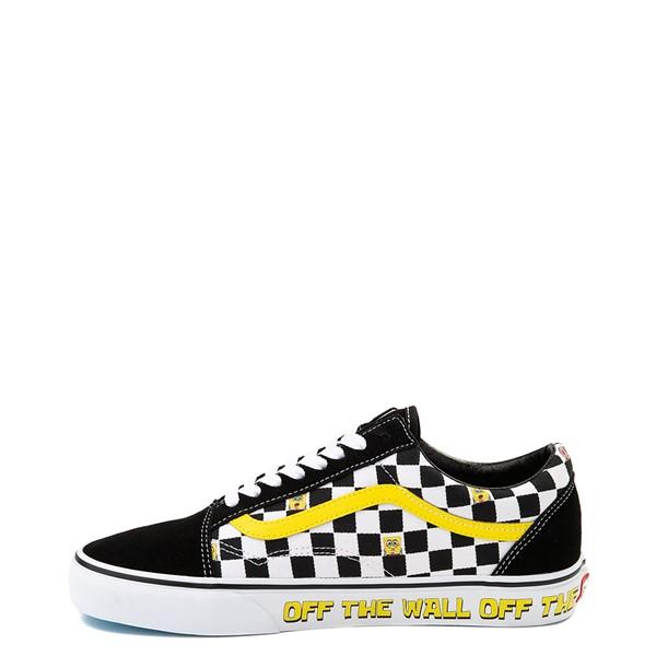 alternate view Vans x SpongeBob SquarePants™ Old Skool Checkerboard Skate Shoe - BlackALT1