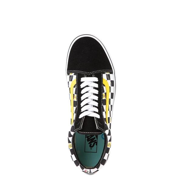 alternate view Vans x SpongeBob SquarePants™ Old Skool Checkerboard Skate Shoe - BlackALT2