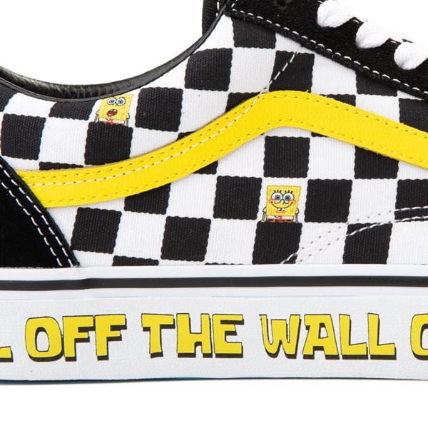alternate view Vans x SpongeBob SquarePants™ Old Skool Checkerboard Skate Shoe - BlackALT2C