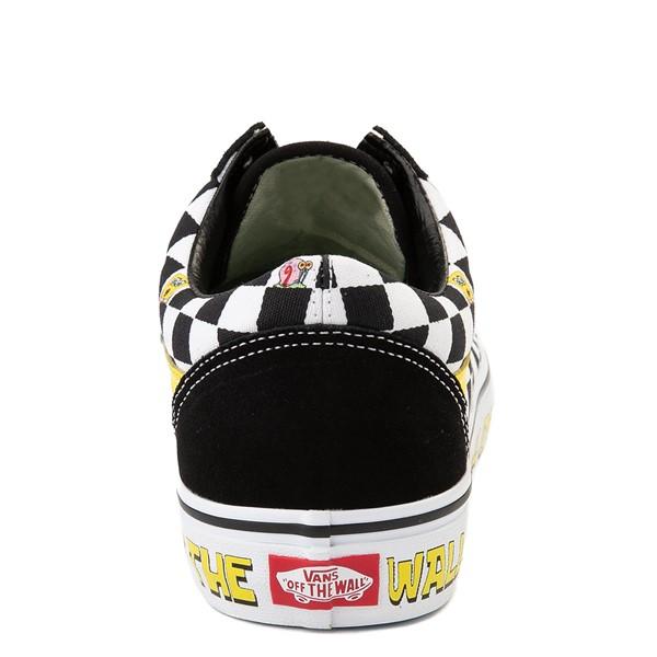 alternate view Vans x SpongeBob SquarePants™ Old Skool Checkerboard Skate Shoe - BlackALT4