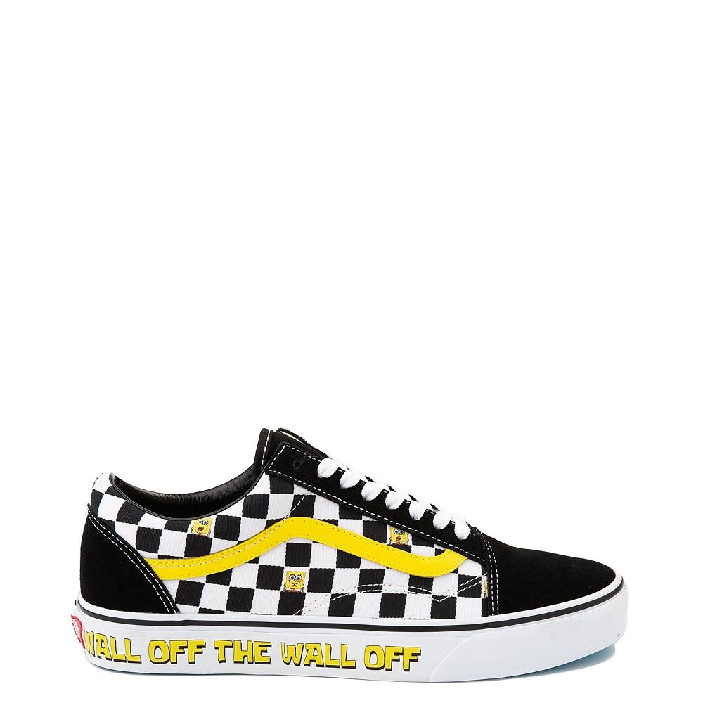 Vans x SpongeBob SquarePants™ Old Skool Checkerboard Skate Shoe - Black