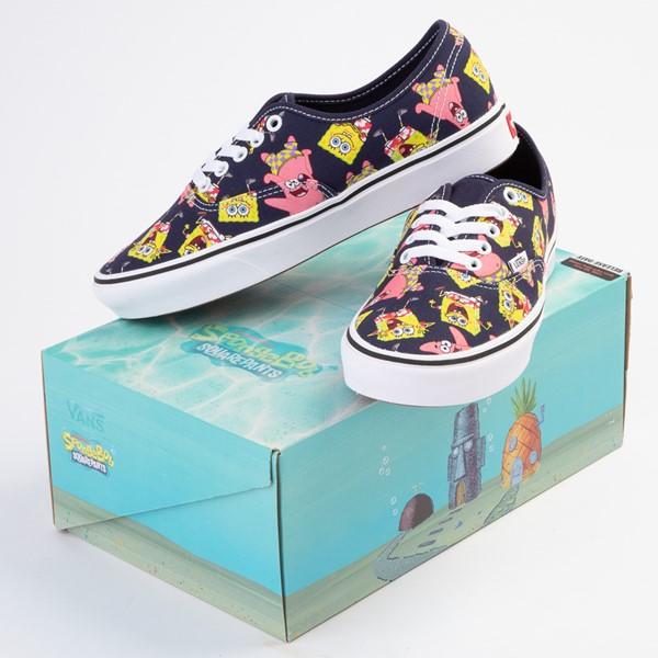 alternate view Vans x SpongeBob SquarePants™ Authentic ComfyCush® Alohabob Skate Shoe - PurpleALT1B