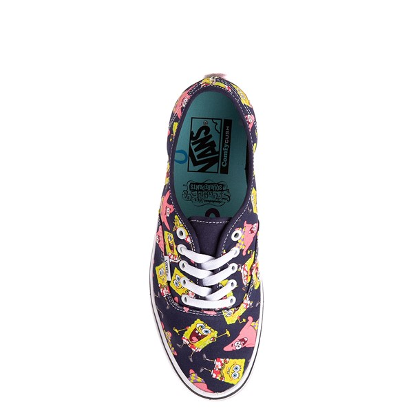 alternate view Vans x SpongeBob SquarePants™ Authentic ComfyCush® Alohabob Skate Shoe - PurpleALT2