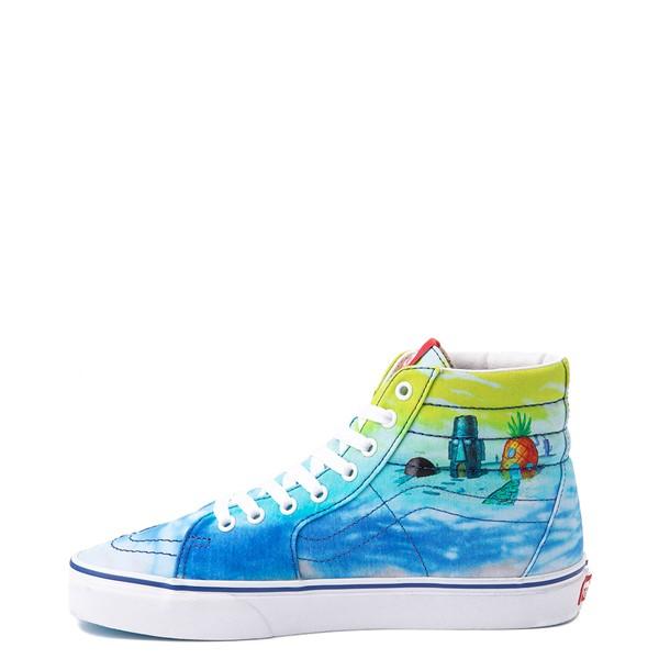 alternate view Vans x SpongeBob SquarePants™ Sk8 Hi Imaginaaation Skate Shoe - MulticolorALT1
