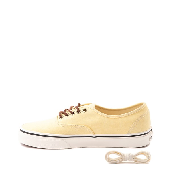 alternate view Vans X Parks Project Authentic Wild And Free Skate Shoe - Mellow YellowALT1