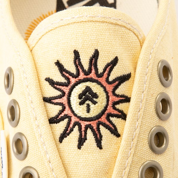 alternate view Vans X Parks Project Authentic Wild And Free Skate Shoe - Mellow YellowALT2B
