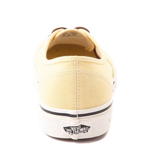 alternate view Vans X Parks Project Authentic Wild And Free Skate Shoe - Mellow YellowALT4