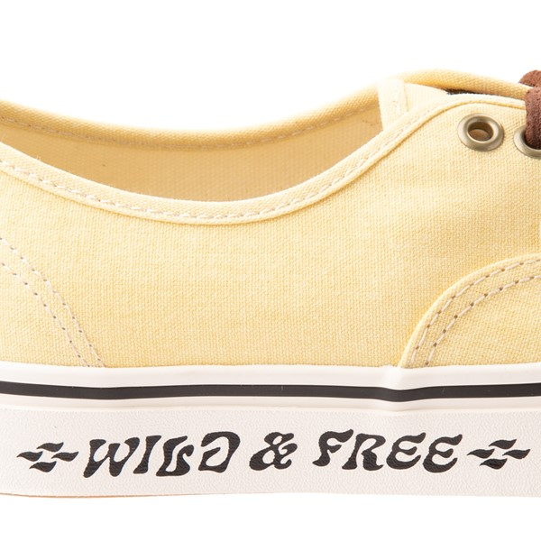 alternate view Vans X Parks Project Authentic Wild And Free Skate Shoe - Mellow YellowALT4B