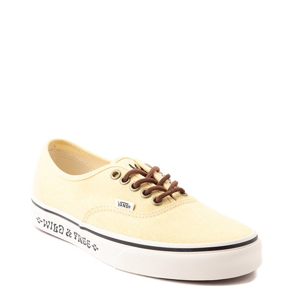 alternate view Vans X Parks Project Authentic Wild And Free Skate Shoe - Mellow YellowALT5