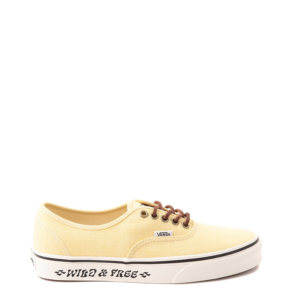 Vans X Parks Project Authentic Wild And Free Skate Shoe - Mellow Yellow