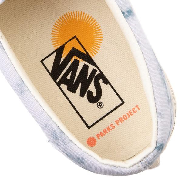 alternate view Vans x Parks Project Slip On Skate Shoe - Little Kid - Tie DyeALT2C