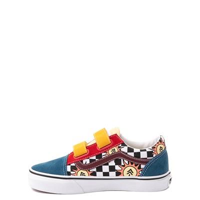 Alternate view of Vans X Parks Project Old Skool V Skate Shoe - Little Kid - Multicolor
