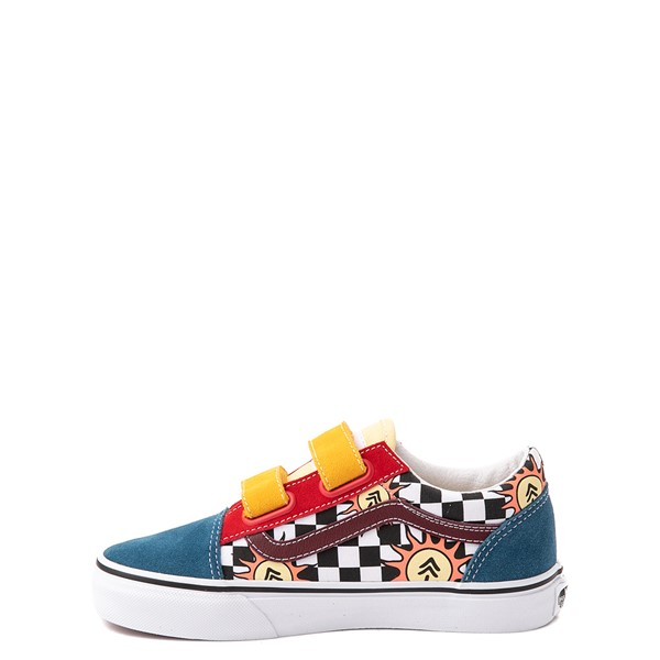 alternate view Vans x Parks Project Old Skool V Skate Shoe - Big Kid - MulticolorALT1