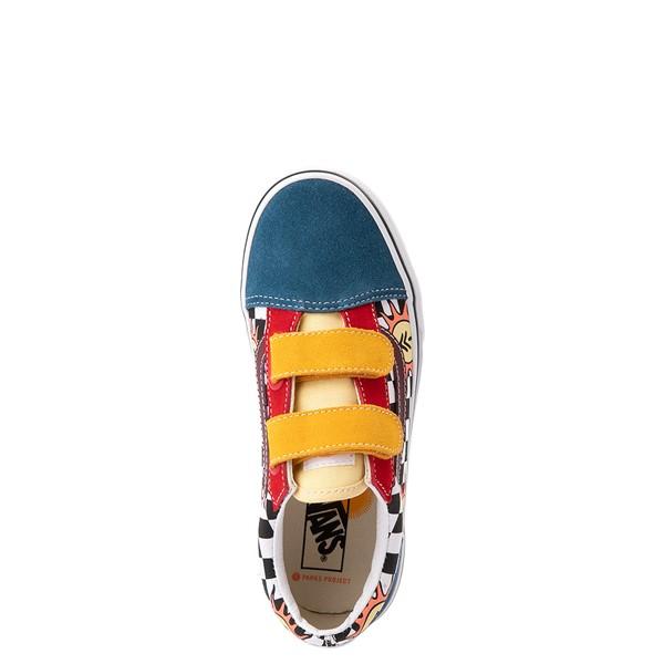 alternate view Vans x Parks Project Old Skool V Skate Shoe - Big Kid - MulticolorALT2