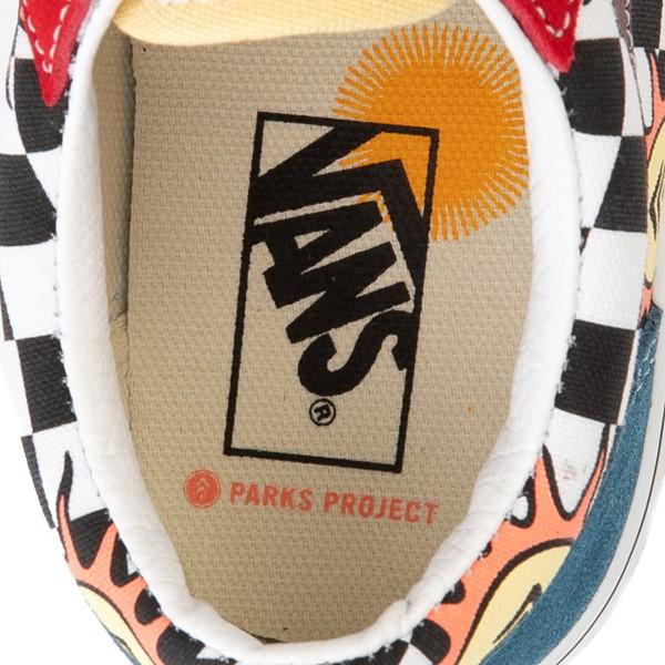 alternate view Vans x Parks Project Old Skool V Skate Shoe - Big Kid - MulticolorALT2C