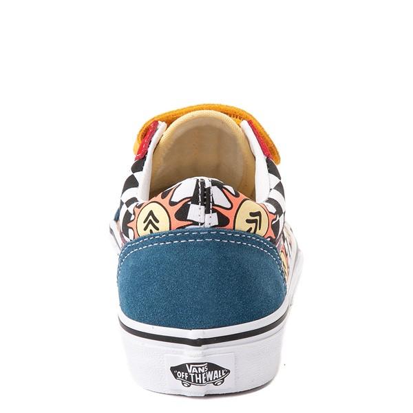 alternate view Vans x Parks Project Old Skool V Skate Shoe - Big Kid - MulticolorALT4