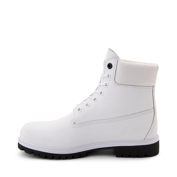 """alternate view Mens Timberland Helcor® 6"""" Classic Boot - WhiteALT1"""