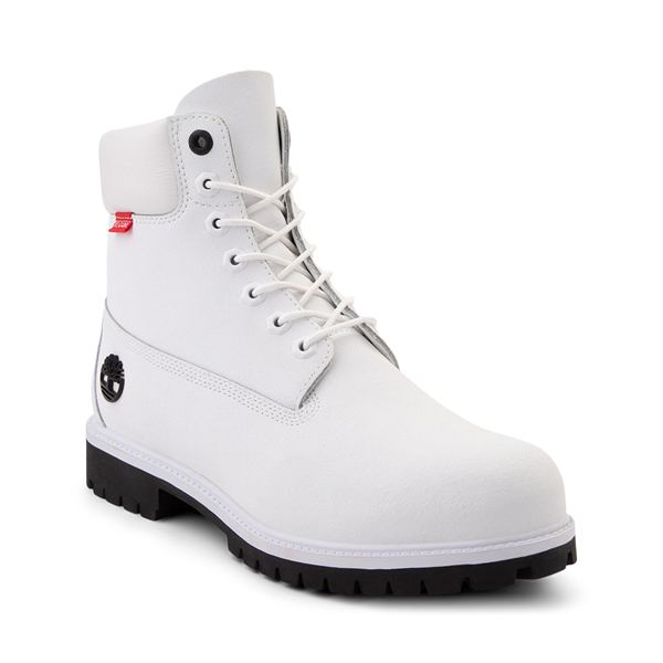 """alternate view Mens Timberland Helcor® 6"""" Classic Boot - WhiteALT5"""