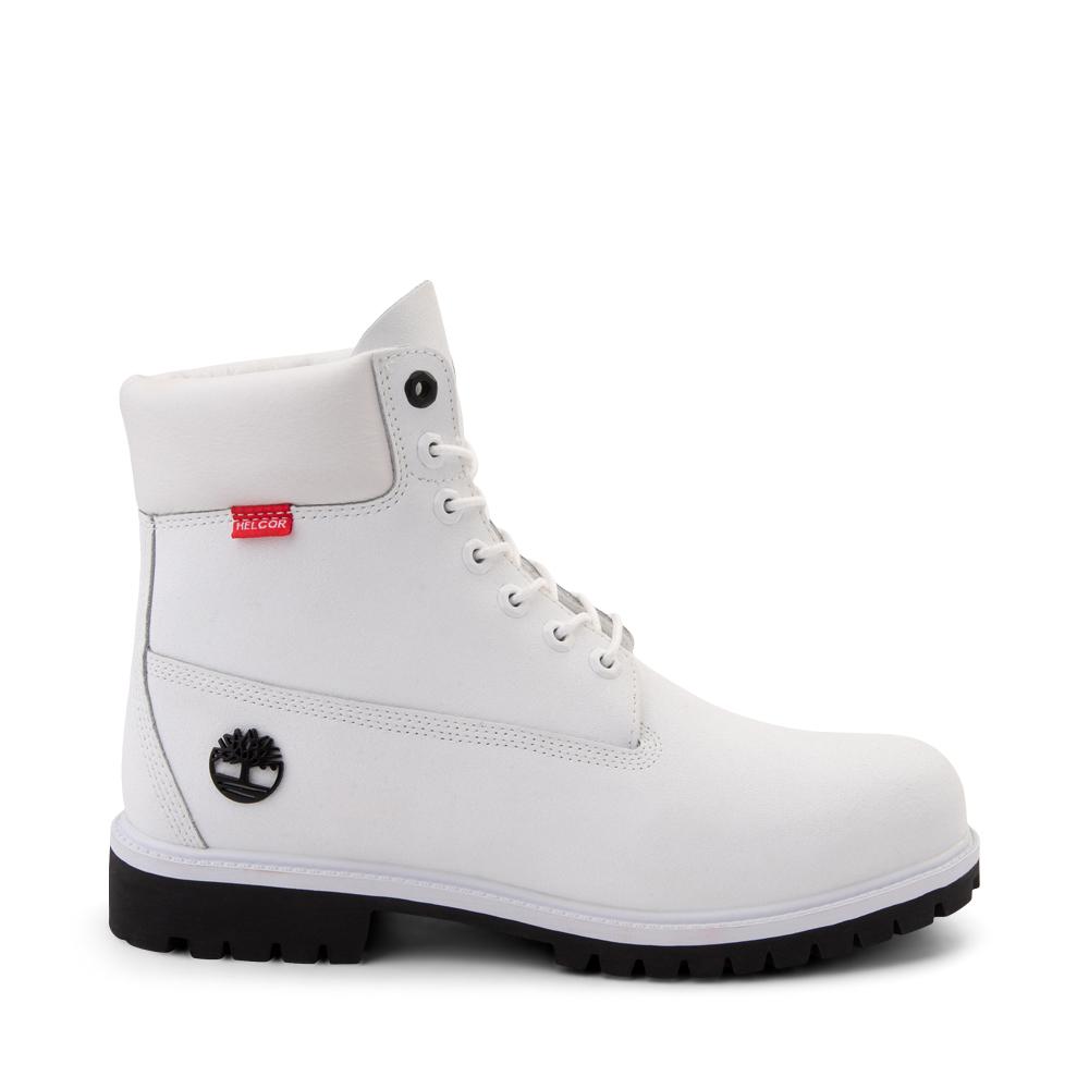 "Mens Timberland Helcor® 6"" Classic Boot - White"