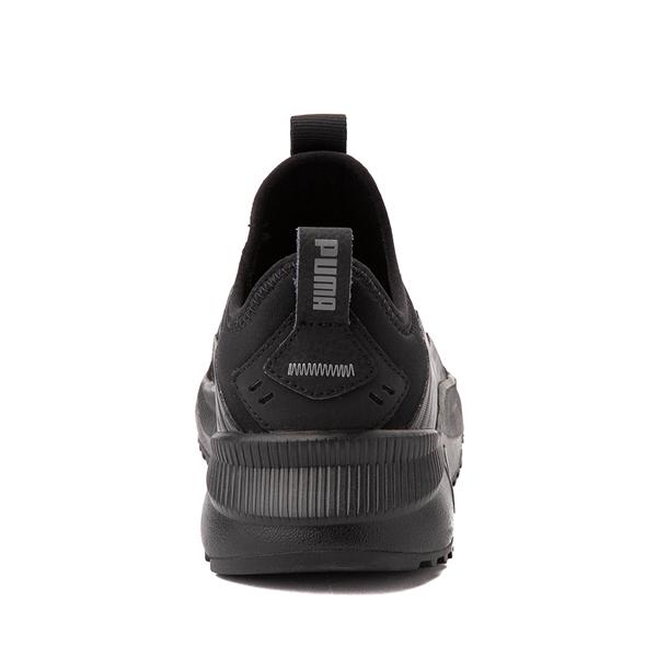 alternate view Puma Pacer Future Slip On Athletic Shoe - Big Kid - Black MonochromeALT4