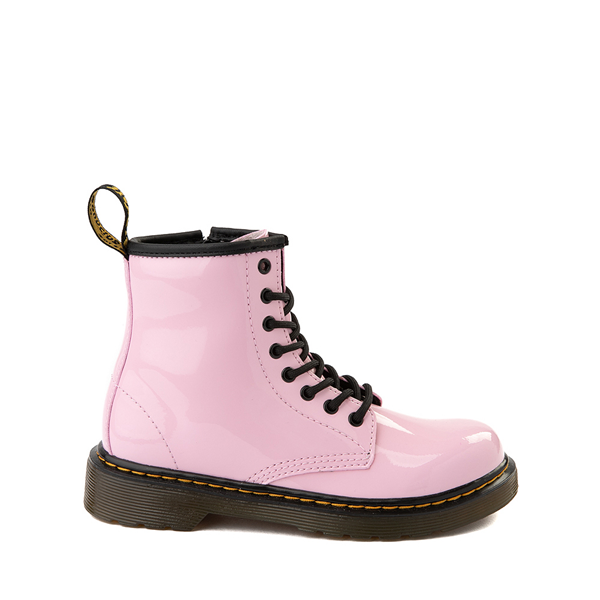 Main view of Dr. Martens 1460 8-Eye Patent Boot - Little Kid / Big Kid - Pale Pink