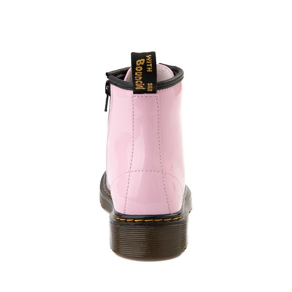 alternate view Dr. Martens 1460 8-Eye Patent Boot - Little Kid / Big Kid - Pale PinkALT4