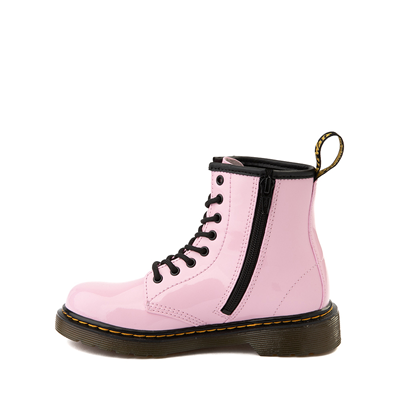 Alternate view of Dr. Martens 1460 8-Eye Patent Boot - Little Kid / Big Kid - Pale Pink