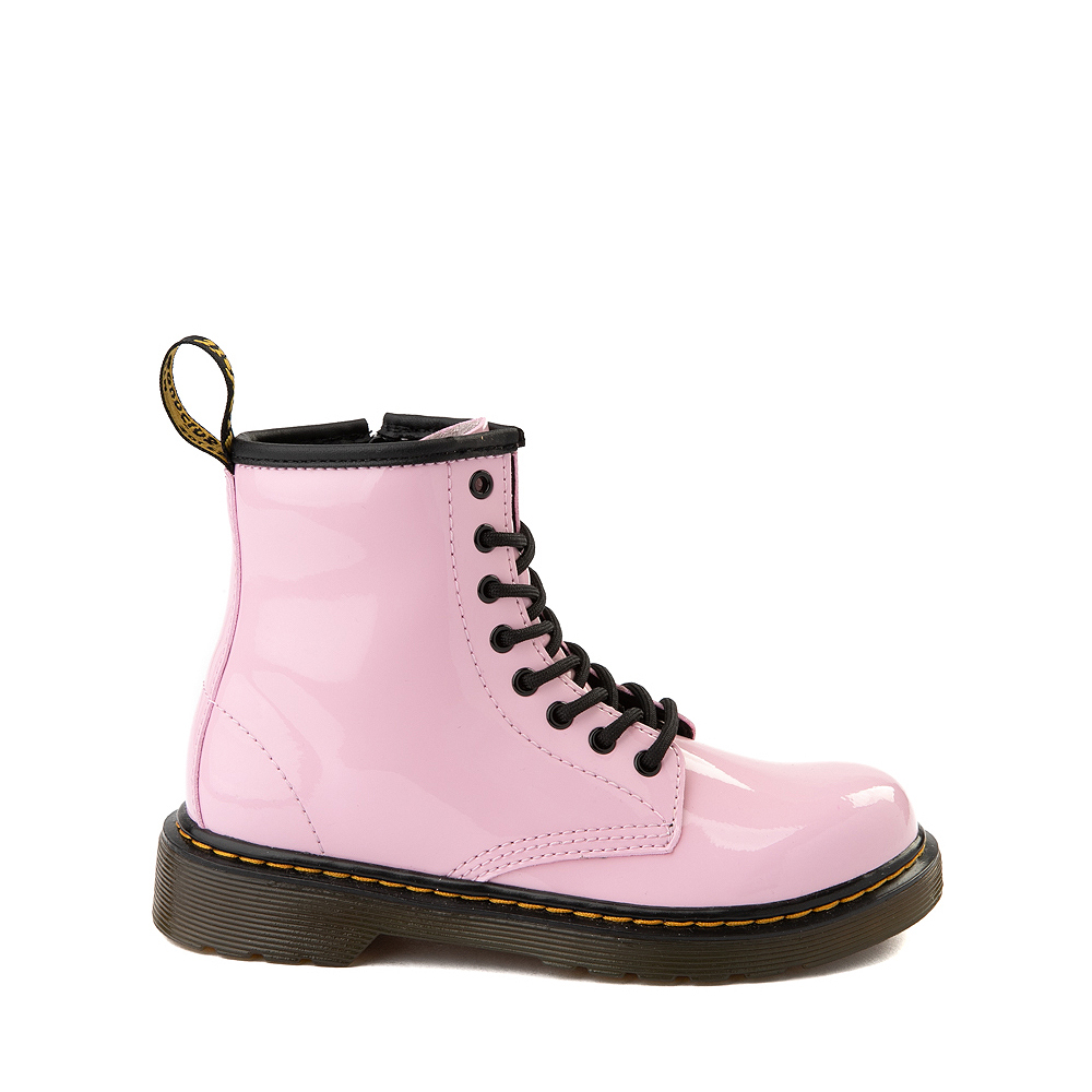Dr. Martens 1460 8-Eye Patent Boot - Little Kid / Big Kid - Pale Pink