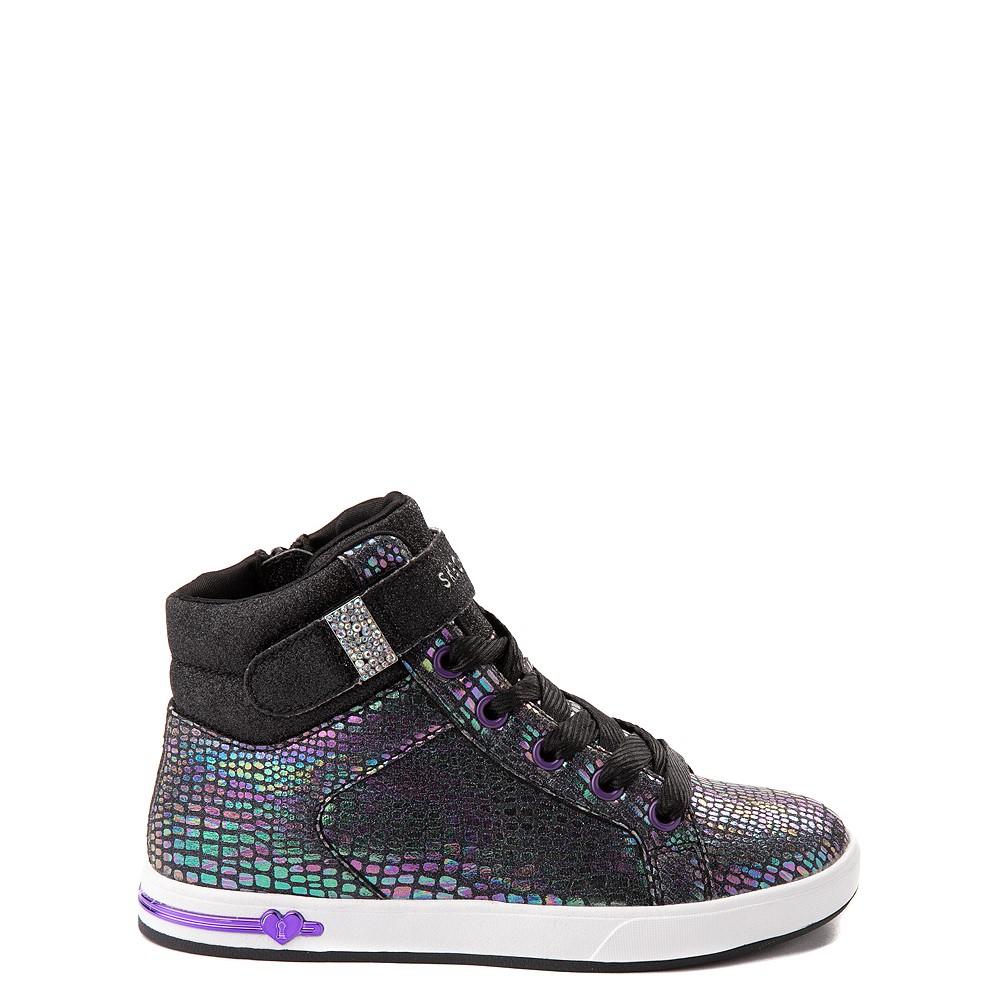 Skechers Shoutouts Summit Sneaker - Little Kid - Black / Iridescent