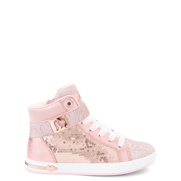 Main view of Skechers Shoutouts Steal The Runway Sneaker - Little Kid - Rose Gold