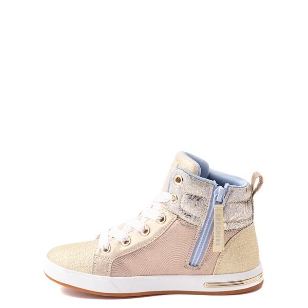 alternate view Skechers Shoutouts Starry Aligned Sneaker - Little Kid - GoldALT1