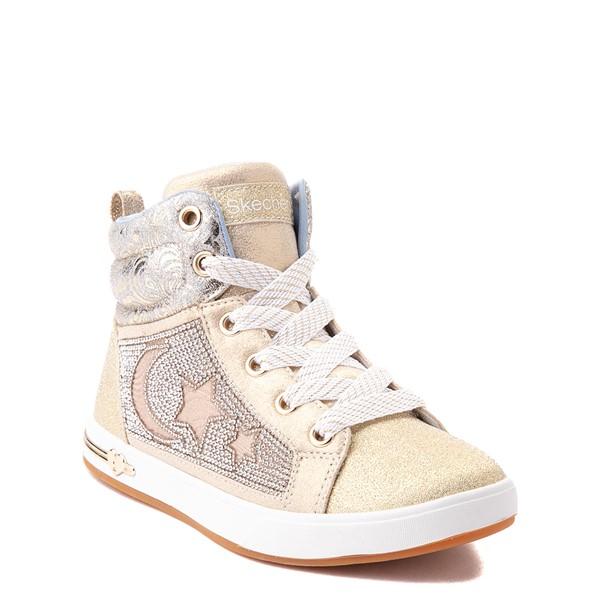 alternate view Skechers Shoutouts Starry Aligned Sneaker - Little Kid - GoldALT5