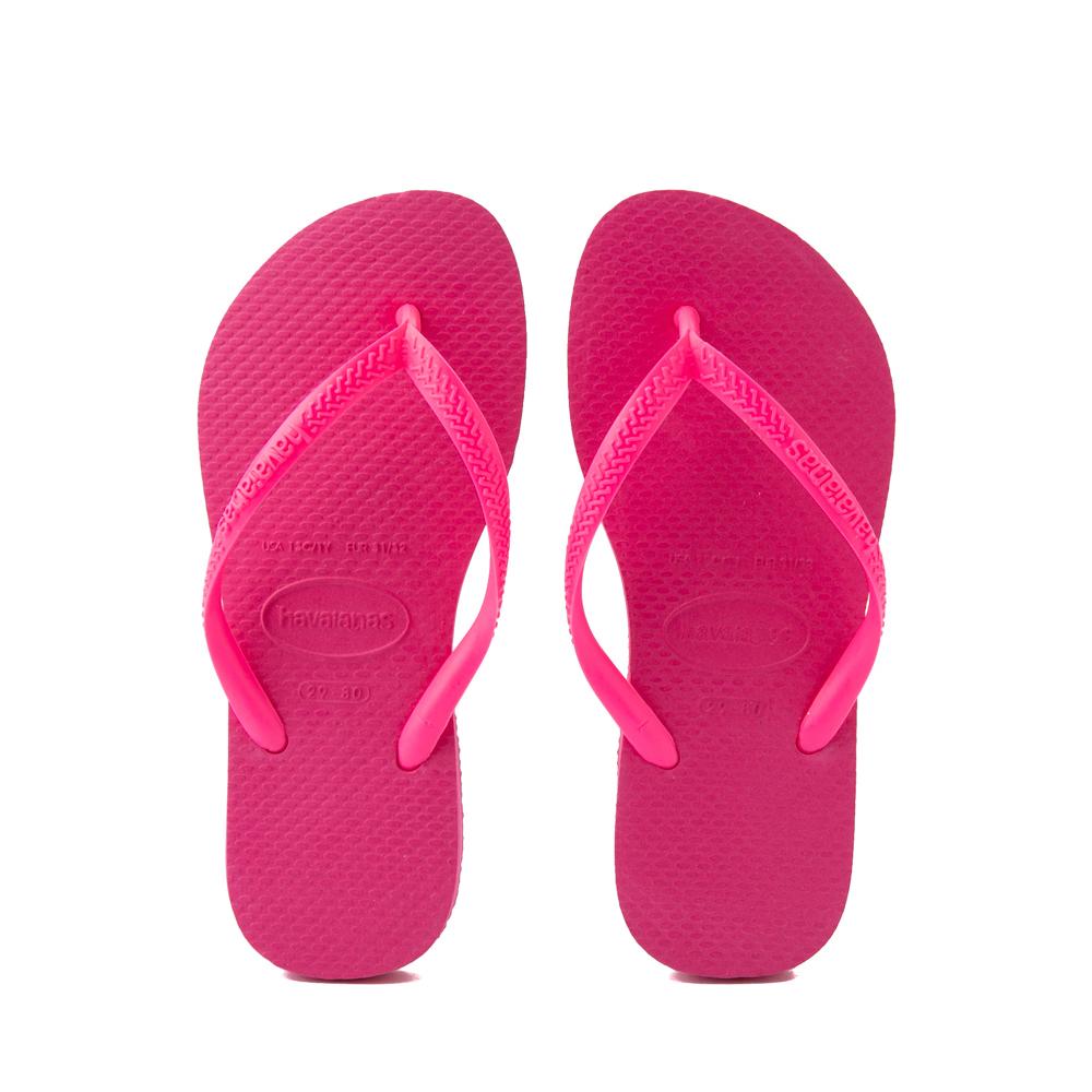 Havaianas Slim Sandal - Toddler / Little Kid - Pink Flux
