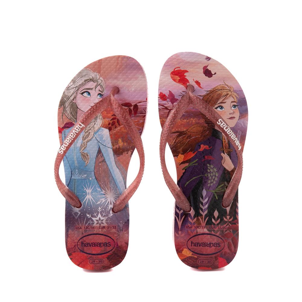 Havaianas Slim Frozen 2 Sandal - Toddler / Little Kid - Autumn Rose
