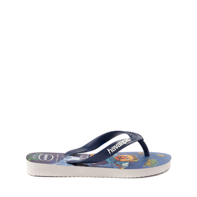 Alternate view of Havaianas Minecraft Sandal - Toddler / Little Kid - Blue