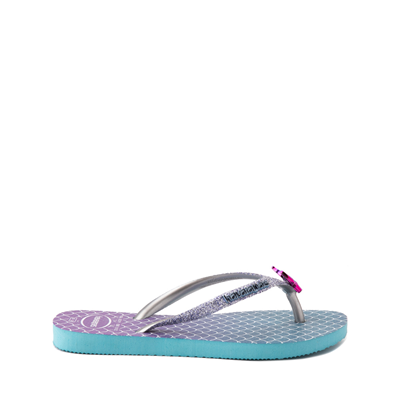Alternate view of Havaianas Slim Mermaid Sandal - Toddler / Little Kid - Blue