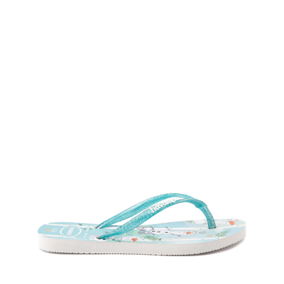 Alternate view of Havaianas Slim Frozen 2 Sandal - Toddler / Little Kid - Blue Frost