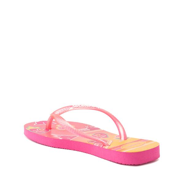 alternate view Havaianas Slim Princess Aurora Sandal - Toddler / Little Kid - Pink FluxALT2