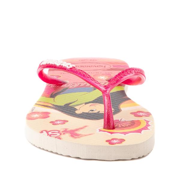 alternate view Havaianas Slim Princess Mulan Sandal - Toddler / Little Kid - Beige / RedALT4