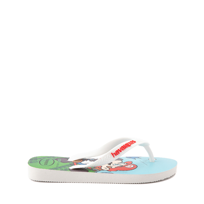 Alternate view of Havaianas Super Mario Kart Sandal - Toddler / Little Kid - White