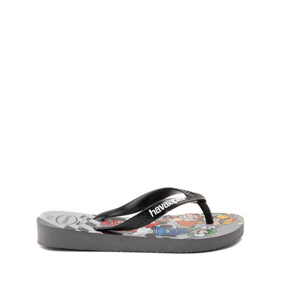 Alternate view of Havaianas Super Mario Kart Sandal - Toddler / Little Kid - Steel Gray