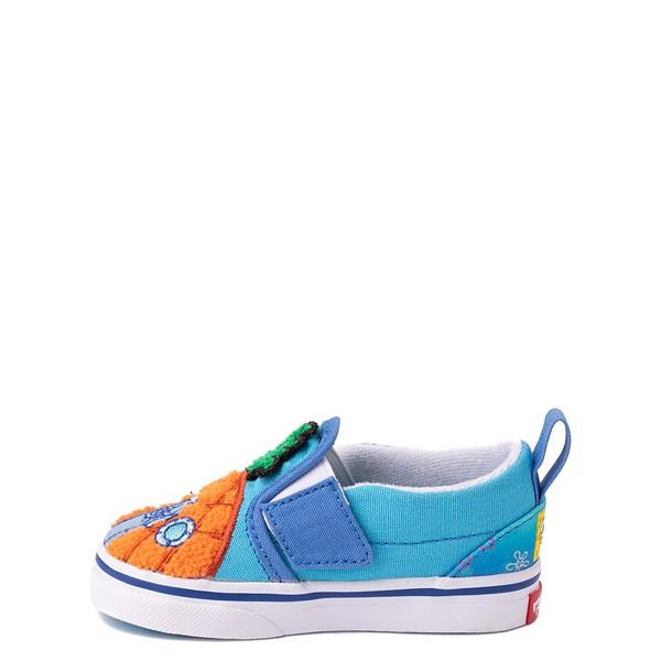 alternate view Vans x SpongeBob SquarePants™ Slip On V 124 Conch St. Skate Shoe - Baby / Toddler - BlueALT1B