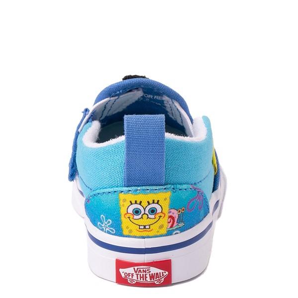 alternate view Vans x SpongeBob SquarePants™ Slip On V 124 Conch St. Skate Shoe - Baby / Toddler - BlueALT4