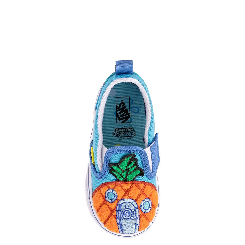 Vans x SpongeBob SquarePants™ Slip On V 124 Conch St. Skate Shoe - Baby / Toddler - Blue