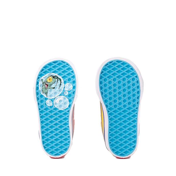 alternate view Vans x SpongeBob SquarePants™ Sk8 Mid Reissue V Best Friends Skate Shoe - Baby / Toddler - Pink / YellowALT3